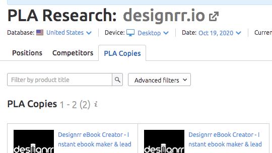 PLA Research